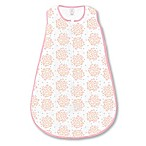 SwaddleDesigns® Small Heavenly Floral zzZipMe® Sack in White/Pink
