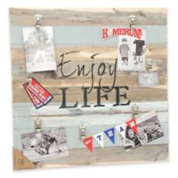 "Sweet Bird & Co. ""Enjoy Life"" 22-Inch x 22-Inch 7-Clip Picture Frame"