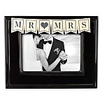 "Grasslands Road™ ""Mr. & Mrs."" 4-Inch x 6-Inch Picture Frame"