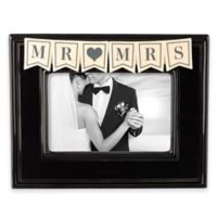 "Grasslands Road™ ""Mr. & Mrs."" 4-Inch x 6-Inch Picture Frame"