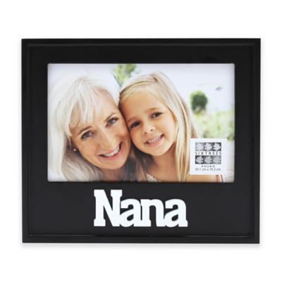 six trees nana 4 inch x 6 inch picture frame
