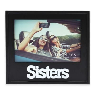 six trees sisters 4 inch x 6 inch picture frame