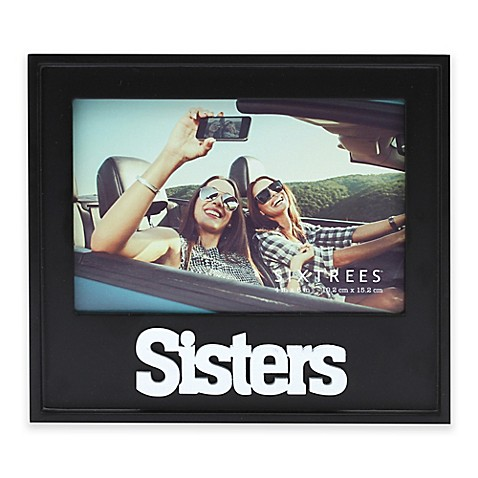 Six Trees Sisters 4 Inch X 6 Inch Picture Frame Bed Bath Beyond