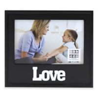 """Six Trees """"Love"""" 4-Inch x 6-Inch Picture Frame"""