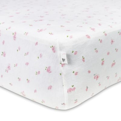 print cribs honeybee crib organic bees burts com fitted s sheet for amazon dp baby mattresses burt