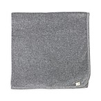 Burt's Bees Baby® Velour Organic Cotton Stroller Blanket in Heather Grey