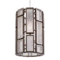 Hemingway 1-Light Mini Pendant in Bronze