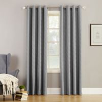 Simon 108-Inch Grommet Top Room Darkening Window Curtain Panel in Grey