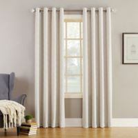 Simon 84-Inch Grommet Top Room Darkening Window Curtain Panel in Ivory