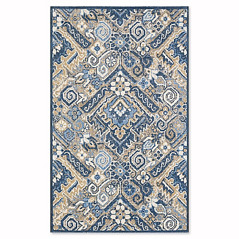 Vcny Fall Sedona Area Rug In Blue Bed Bath Amp Beyond