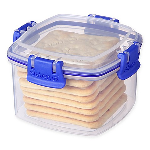 Lovely Sistema® KLIP IT™ Utility Cracker Storage Container