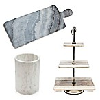 Godinger Marble Kitchen Accessories Collection