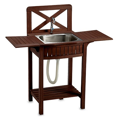Outdoor Wood Sink Station Bed Bath amp Beyond