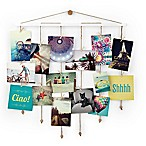 Umbra® Dangle Photo Display Wall Collage in White