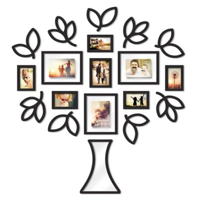 Wallverbs™ Open Leaf Tree 19-Piece Picture Frame Set - Bed Bath & Beyond