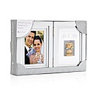 Pearhead® First Toast 4-Inch x 6-Inch Photo Frame in White