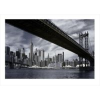 Elementem Photography 39-Inch x 59-Inch Photographic Wall Art of Manhattan Bridge