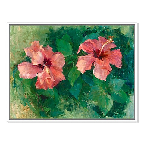 Two Hibiscus\