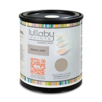 Lullaby Paints Baby-Safe Nursery Wall Paint 1/2 Gallon in Classic Taupe Gloss Finish