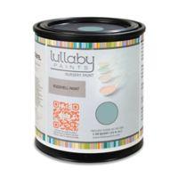 Lullaby Paints Baby Safe Nursery Wall Paint Sample Card in Rain Cloud