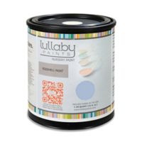 Lullaby Paints Baby Safe Nursery Wall Paint Sample Card in Monday Blues