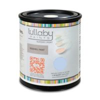 Lullaby Paints Baby-Safe Nursery Wall Paint Sample in Baby Boy Blue Eggshell Finish