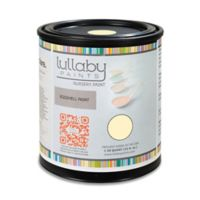 Lullaby Paints Baby Safe Nursery Wall Paint Sample Card in Creamy Chiffon