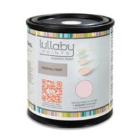 Lullaby Paints Baby Safe Nursery Wall Paint Sample Card in Softest Pink