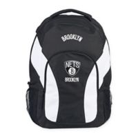 NBA New Jersey Nets Draft Day Backpack in Black