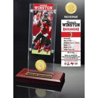 Jameis Winston Ticket & Bronze Coin Acrylic Desk Top