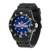 MLB Chicago Cubs World Series Champions Men's 66 mm Spirit Watch