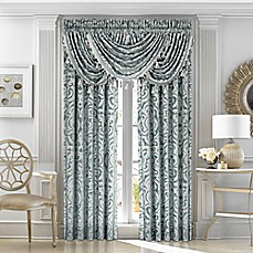 j queen new sicily window curtain panels and valance - J Queen New York Bedding
