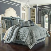 J. Queen New York™ Sicily King Comforter Set in Teal