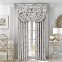 J. Queen New York™ Chandelier 84-Inch Window Curtain Panel Pair in Silver