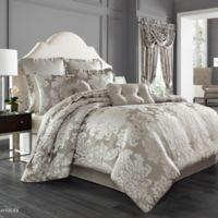 J. Queen New York™ Chandelier King Comforter Set in Silver