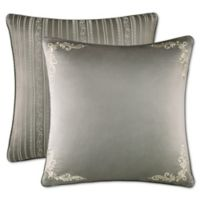 J. Queen New York™ Corinna European Pillow Sham in Silver