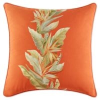 Tommy Bahama® Birds of Paradise Square Throw Pillow in Spice