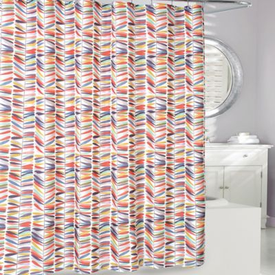 thomson trail shower curtain in rustgold