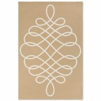 Artistic Weavers Annette Hallie 2-Foot x 3-Foot Accent Rug in Straw