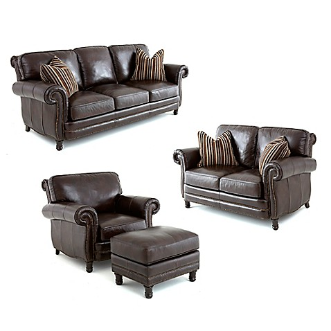 Steve Silver Co. Chateau Leather Furniture Collection