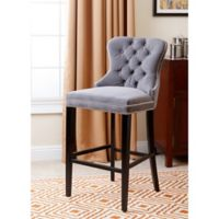 Abbyson Living® Versailles Barstool in Grey