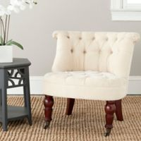 Safavieh Carlin Tufted Chair in Natural