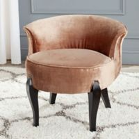 Safavieh Mora Vanity Chair in Mink
