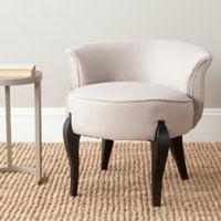 Safavieh Mora Vanity Chair in Taupe