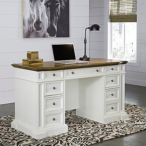 Home Styles Americana Pedestal Desk Bed Bath Amp Beyond