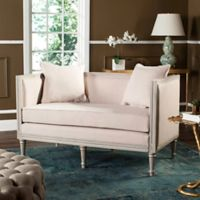 Safavieh Leandra French Country Settee in Beige