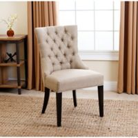 Abbyson Living® Tivoli Tufted Dining Chair in Beige