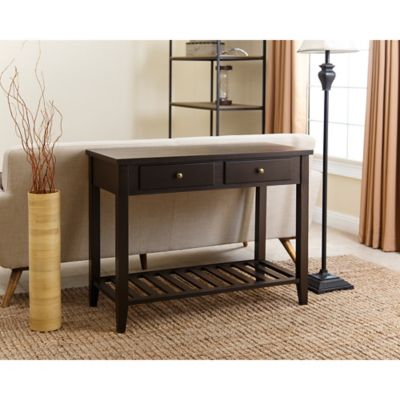 Abbyson Living Owen Sofa Table In Espresso