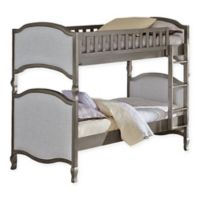 Hillsdale Furniture Kensington Victoria Twin/Twin Bunk Bed in Antique Silver