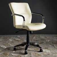 Safavieh Lysette Desk Chair in Cream